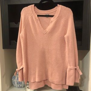 Aerie American eagle NWOT light pink sweater